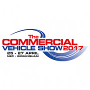 25-27 april, The Commercial Vehicle Show 2017, Birmingham (UK), Stand 4J100